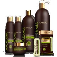 Линия для волос «Макадамия» Kativa - увлажнение и укрепление.