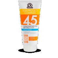 Солнцезащитное молочко для лица и тела spf-45