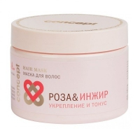 Маска для волос «Роза&инжир» укрепление и тонус (Concept Spa Power&tonus Hair Mask)