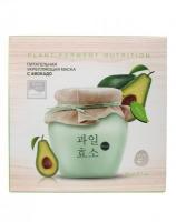 Питательная укрепляющая тканевая маска с авокадо