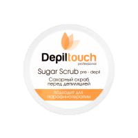 Скраб сахарный перед депиляцией с натуральным мёдом