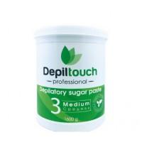 Сахарная паста для депиляции «Depiltouch professional» средняя