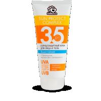 Солнцезащитное молочко для лица и тела spf-35