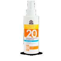 Солнцезащитное молочко для лица и тела spf-20