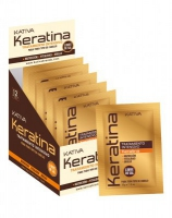 Маска для поврежденных и хрупких волос кератиновая интенсивно восстанавливающая KERATINA