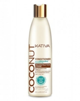 Восстанавливающий кондиционер с органическим кокосовым маслом для поврежденных волос