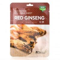 Маска с экстрактом красного женьшеня (Amicell Pascucci Good Face Eco Mask Sheet Red Ginseng)