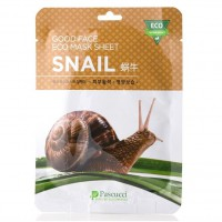 Маска с фильтратом улиточного секрета (Amicell Pascucci Good Face Eco Mask Sheet Snail)