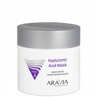 Крем-маска супер увлажняющая Hyaluronic Acid Mask (Aravia Hyaluronic Acid Mask)