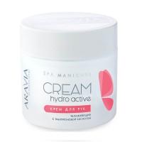 """Крем для рук увлажняющий """"Hydro Active"""" с гиалуроновой кислотой, 300мл, шт (Aravia Hydro Active Hand Cream)"""