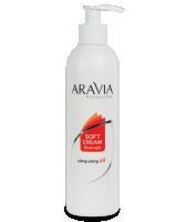 Сливки после депиляции с маслом иланг-иланг для восстановления рН кожи, флакон с дозатором 150мл., шт (Aravia Soft Cream Post-epil)