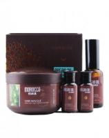 Подарочный набор, Argan Oil from Morocco (маска для волос Caviar 200мл, масло арганы 10мл х 2, 30мл)