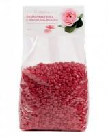 Пленочный воск с маслом розы москуэта в гранулах