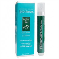 Наполняющая сыворотка для кожи вокруг глаз в тубе с роликовым аппликатором (Exuviance DePuffing Eye Serum)