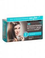 Набор для выпрямления волос «Восстановление» для волос с секущимися кончиками IRON FREE