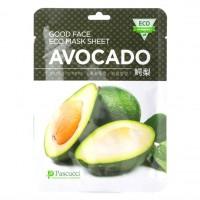Маска с экстрактом авокадо (Amicell Pascucci Good Face Eco Mask Sheet Avocado)
