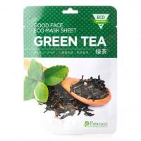 Маска с экстрактом зеленого чая (Amicell Pascucci Good Face Eco Mask Sheet Green Tea)